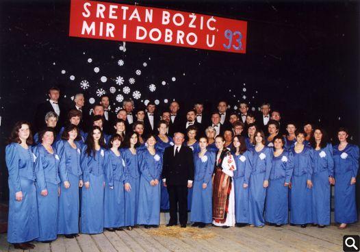 Božićni koncert 19. prosinca 1992. godine
