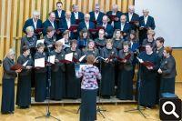 """HPD """"Tomislav"""" na smotri zborova u Županji 21. studenog 2015."""